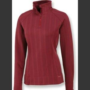 Merrell Ashby Half Zip Sweater L